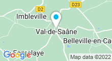 Plan Carte Piscine des Trois Rivières à Val de Saane
