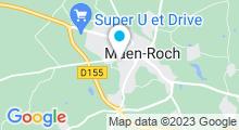 Plan Carte Piscine Coglé'O à Saint Brice en Coglès