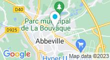 Plan Carte Piscine l'Aqu'ABB à Abbeville