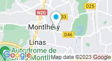 Plan Carte Piscine Caron à Montlhéry