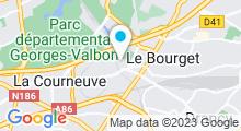 Plan Carte Piscine du Bourget