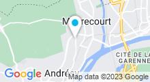 Plan Carte Piscine Sébastien Rouault à Andresy