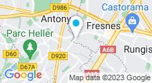 Plan Carte Piscine à Fresnes