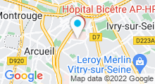 Plan Carte Piscine au Kremlin Bicêtre