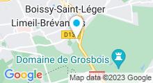 Plan Carte Piscine des Dauphins à Limeil Brevannes