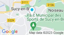 Plan Carte Piscine à Sucy en Brie