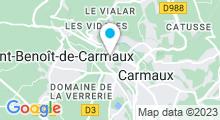 Plan Carte Centre aquatique L'Odyssée - Piscine à Carmaux