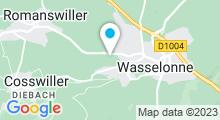 Plan Carte Piscine intercommunale de Wasselonne