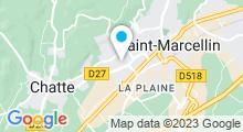 Plan Carte Centre aquatique l'Olympide - Piscine à Chatte