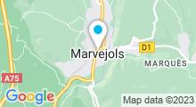 Plan Carte Piscine à Marvejols