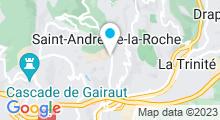 Plan Carte Piscine à Saint-André-de-la-Roche