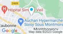 Plan Carte Centre nautique La Vague - Piscine à Soisy-sous-Montmorency