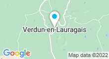 Plan Carte Piscine à Verdun en Lauragais