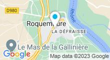 Plan Carte Piscine à Roquemaure