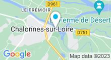 Plan Carte Piscine Calonna à Chalonnes-sur-Loire