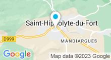 Plan Carte Piscine à Saint Hippolyte du Fort