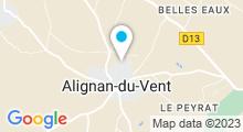 Plan Carte Piscine à Alignan du Vent