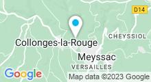 Plan Carte Piscine de Collonges-Meyssac