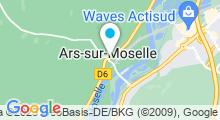 Plan Carte Piscine à Ars sur Moselle
