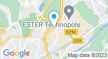 Plan Carte Centre aquatique Aquapolis - Piscine à Limoges