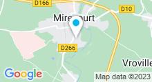 Plan Carte Piscine intercommunale à Mirecourt Dompaire