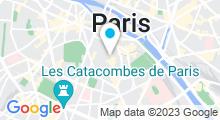 Plan Carte Piscine Jean Taris à Paris (5e)