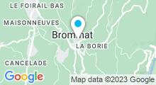 Plan Carte Piscine à Brommat