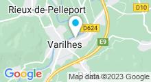 Plan Carte Piscine à Varilhes