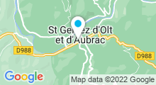 Plan Carte Piscine à Saint Geniez d'Olt