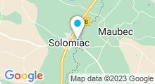 Plan Carte Base de loisirs à Solomiac