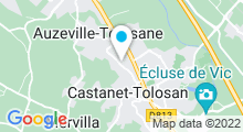 Plan Carte Piscine à Castanet Tolosan