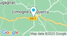Plan Carte Piscine à Limogne en Quercy