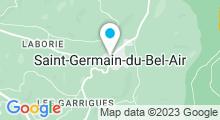 Plan Carte Piscine à Saint Germain du Bel Air