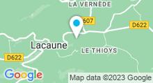 Plan Carte Piscine des Sources Chaudes à Lacaune
