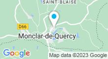 Plan Carte Piscine à Monclar de Quercy