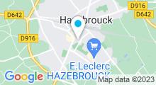 Plan Carte Piscine à Hazebrouck
