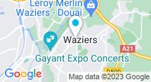 Plan Carte Piscine à Waziers
