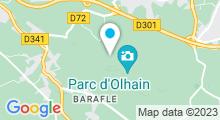 Plan Carte Piscine du Parc d'Olhain au Maisnil lès Ruitz