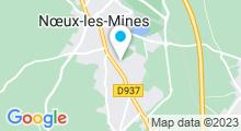 Plan Carte Piscine à Noeux les Mines