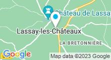 Plan Carte Piscine à Lassay les Chateaux