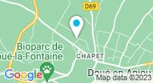 Plan Carte Centre aquatique des Fontaines - Piscine à Doué la Fontaine