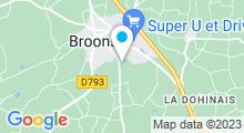Plan Carte Piscine de la Planchette à Broons