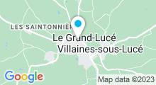 Plan Carte Piscine au Grand Lucé