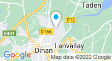 Plan Carte Piscine Caneton à Dinan