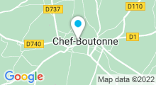 Plan Carte Piscine à Chef Boutonne