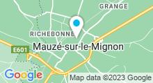 Plan Carte Piscine Les Colliberts à Mauzé sur le Mignon