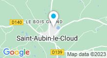 Plan Carte Piscine à Saint Aubin le Cloud