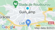 Plan Carte Piscine de Guingamp