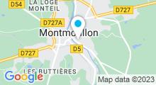 Plan Carte Piscine à Montmorillon