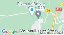 Plan Carte Piscine du Creps à Vouneuil sous Biard
